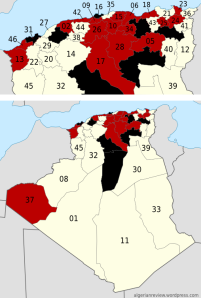 H1N1 Algeria as of December 7th 2009